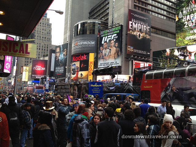 NYC Times Square New Years Eve 2012_crowd