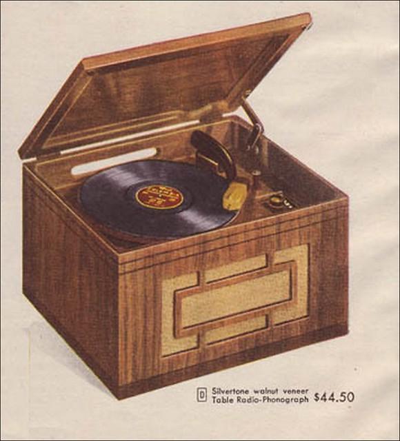 1940s radio record player eBay