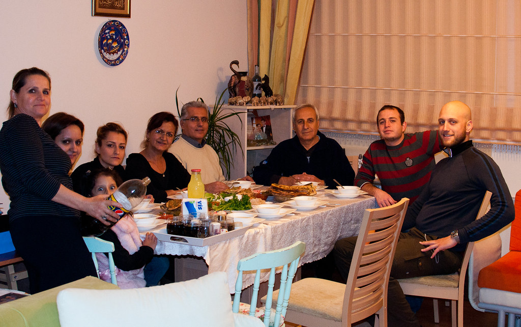 Family Dinner at Konya