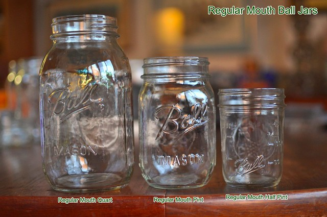 regular mouth ball jars