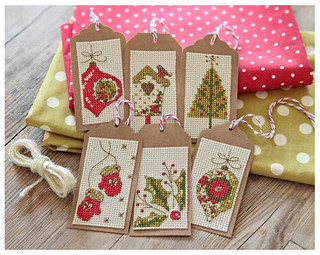 Christmas gift tags - issue 247