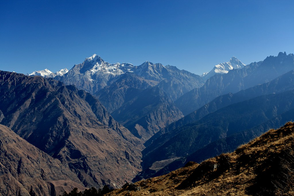 Nanda Devi and Dronagiri
