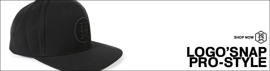 klutch republik logo snap back pro automotive clothing