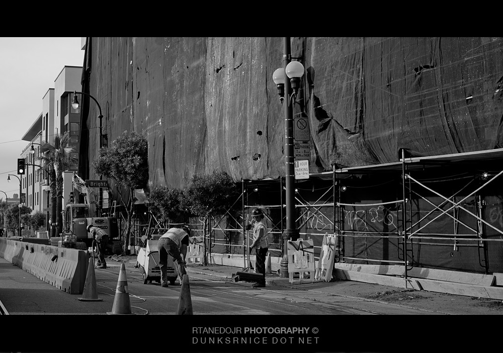 Construction B&W.