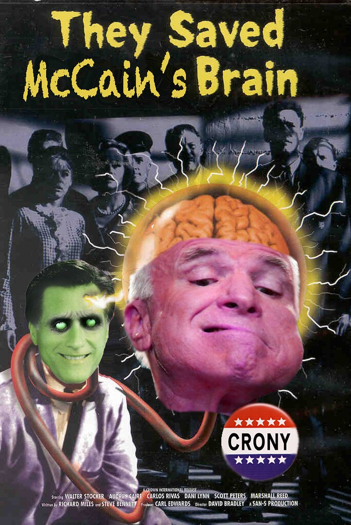 THEY SAVED McCAIN'S BRAIN