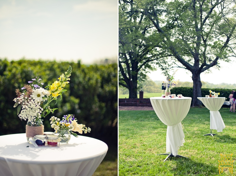 gray and yellow outdoor vintage wedding_040