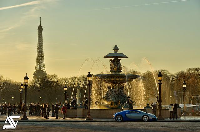 Supercar in Paris