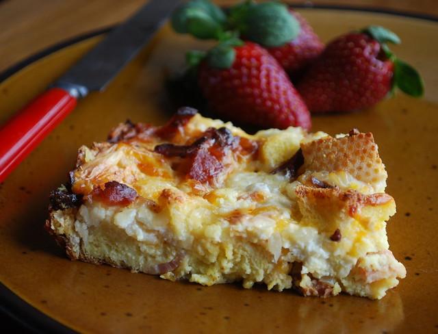 3 Cheese Breakfast Bake 1
