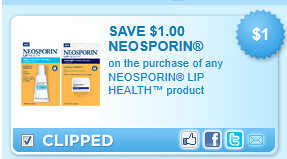 Neosporin Lip Coupon