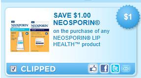 Neosporin Lip Coupon