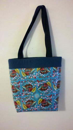 Loulouthi Oilcloth Tote Bag