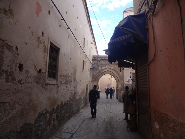 Marrakech Medina Morocco January 2012