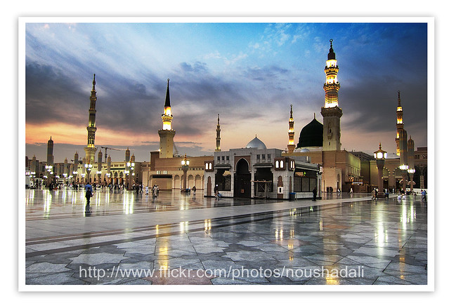 Map Masjid Nabawi http://www.flickr.com/photos/noushadali/6668937555/