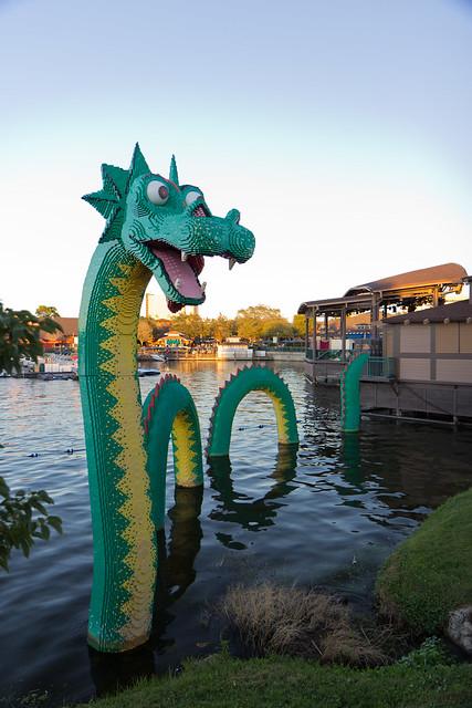 Lego Lake Dragon
