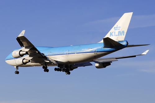 Royal Dutch Airlines (KLM) Boeing 747-406(M)