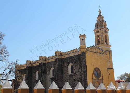 Convento Franciscano del Siglo XVI San Gabriel - Cholula - Puebla - México