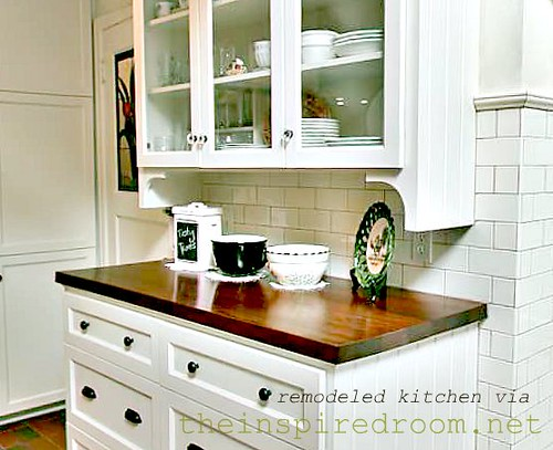 How To Add Affordable Architectural Personality To Your Kitchen The Inspired Room