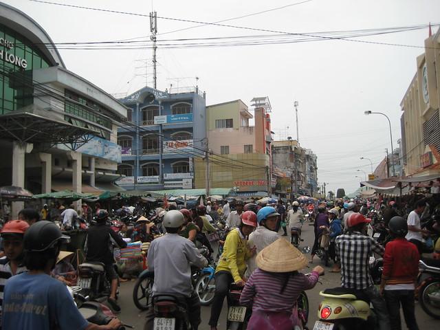 На рынке