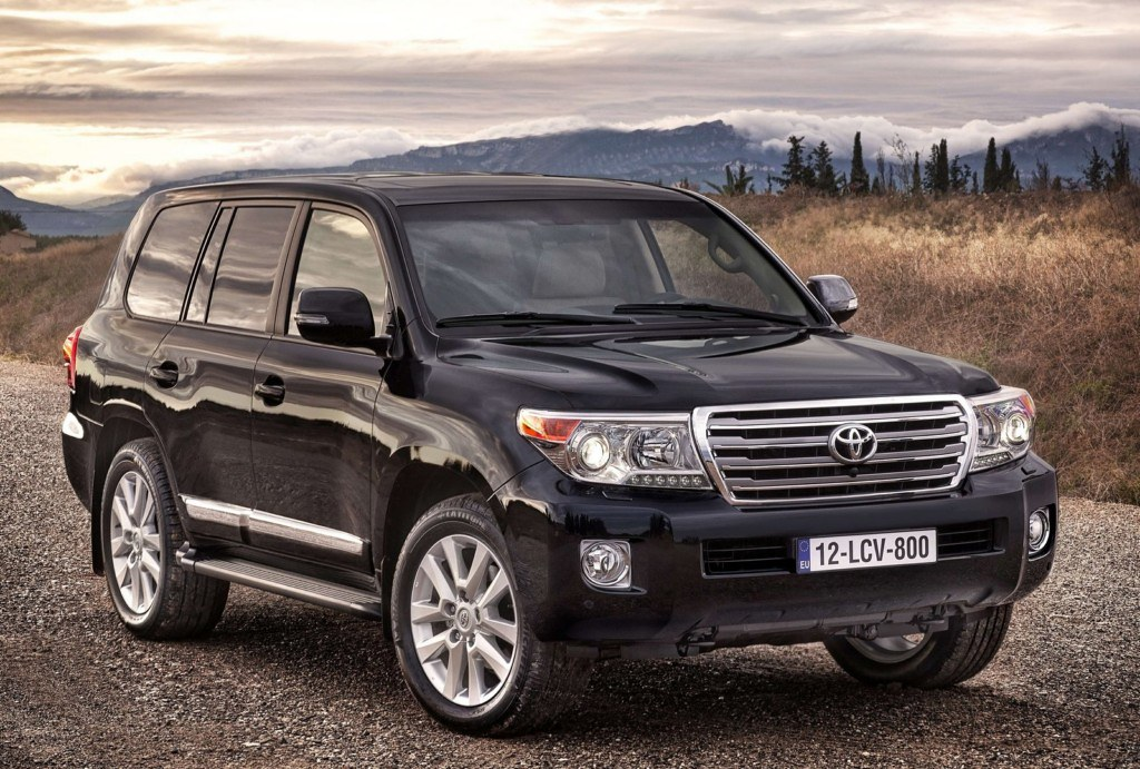 Toyota Land Cruiser 200 FL 2012