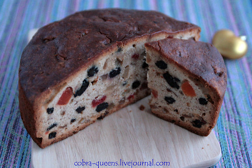 Dundee Cake (section)