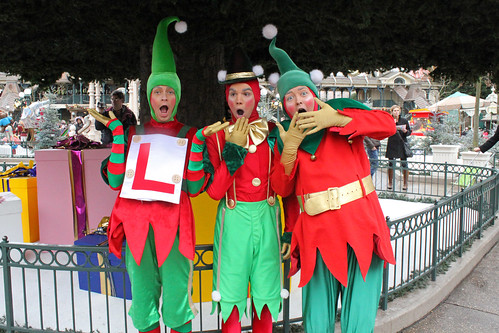 Having fun with the crazy Elves!