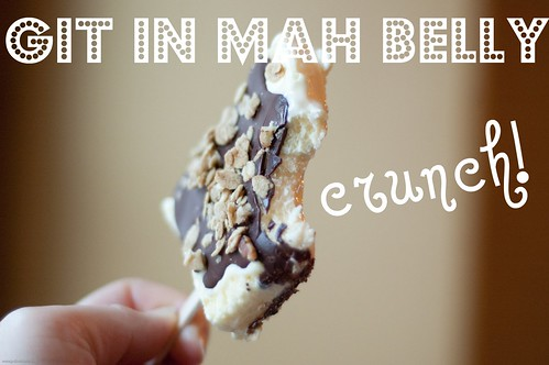 {how to} make nutty paddle pops!
