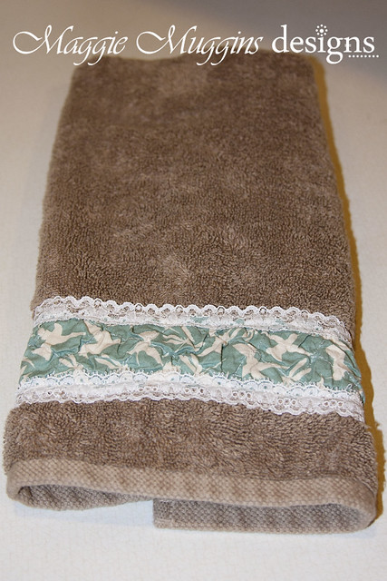 Hand Towel Makeover