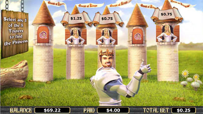 Quest of Kings free spins