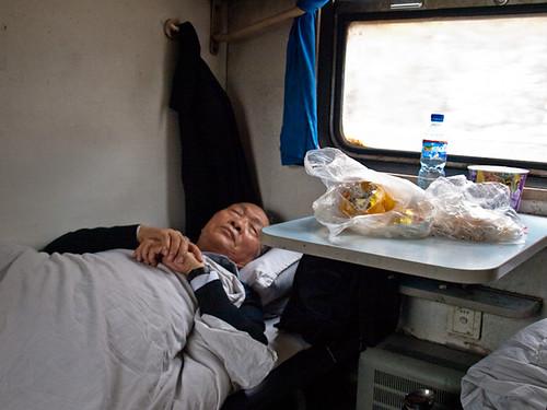 Litera blanda, tren China