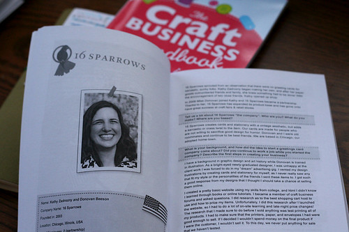 Interview in Craft Business Heros