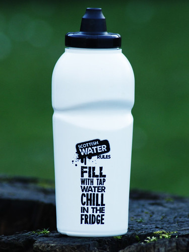 Water Bottle for Scottish Tap Water (front)