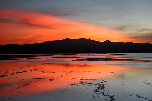sunrise salt bolivia salardeuyuni