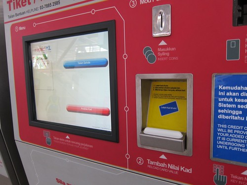 RapidKL TIcketing