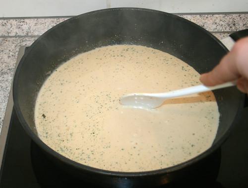25 - mix & boil up / verrühren und aufkochen lassen