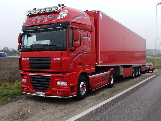 NEW DAF 105510 XF Transports Hervé Cailleaux 74