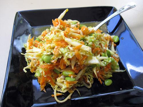 asian inspired napa cabbage slaw | Flickr - Photo Sharing!