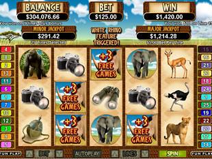 White Rhino Bonus Game