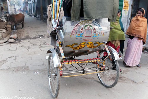 Decorated Cycle Rickshaw