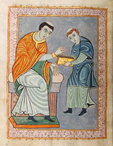 008-Gero-Codex  Evangelistar Hs 1948- Universitäts- und Landesbibliothek Darmstadt