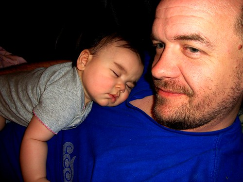 Nap Time with Daddy 2