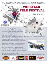 Whistler Tele Festival - Feb 4, 2012