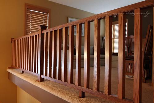 nc railing above