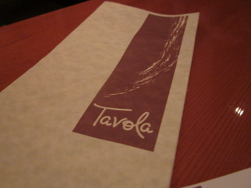 Tavola (Robson and Denman, West End)