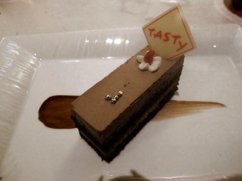咖啡蛋糕@西堤牛排
