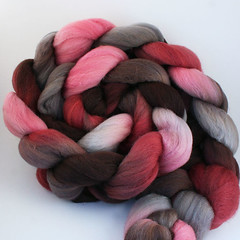 Blushing on Merino Silk