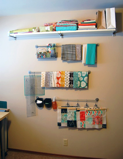 Sewing Room Railing System