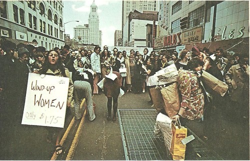 1970 Womens Right March, NYC