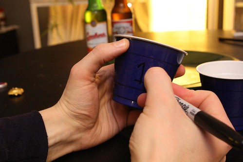 Marking Blind Tasting Cup