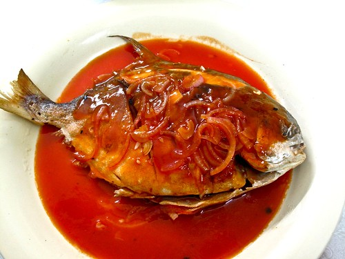 IMG_1625 sweet and sour fish for reunion dinner 2012 , 糖醋鱼,2012团圆饭
