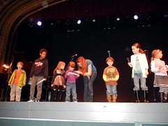 Budding thespians take the stage